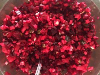 rode bietensalade