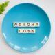 hoeveel kilo afvallen per week