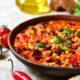 kapucijners in je chili sin carne is heerlijk